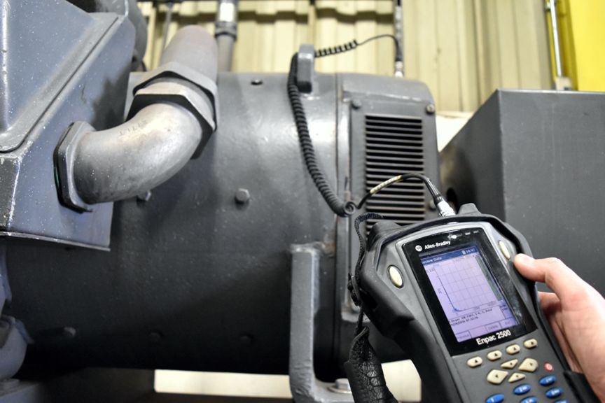 Bodine Electric of Danville's field technicians can perform vibration analysis to help prevent downtime and reduce your maintenance costs.